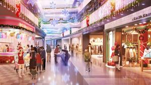 ショッピングモール クリスマス
